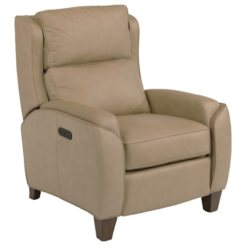 Flexsteel Latitudes-Rose Power High Leg Recliner with Power Tilt Headrest