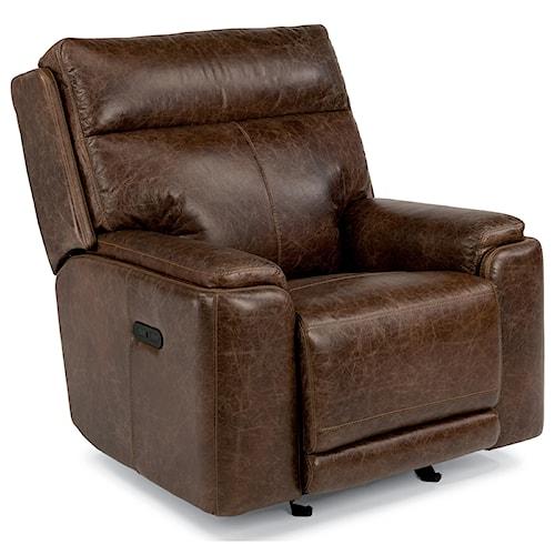 Flexsteel Furniture Uk: Flexsteel Latitudes-Sienna Power Gliding Recliner With