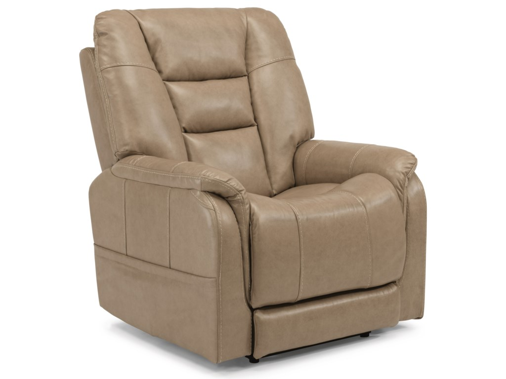 Flexsteel Latitudes-TheoPower Recliner with Power Headrest
