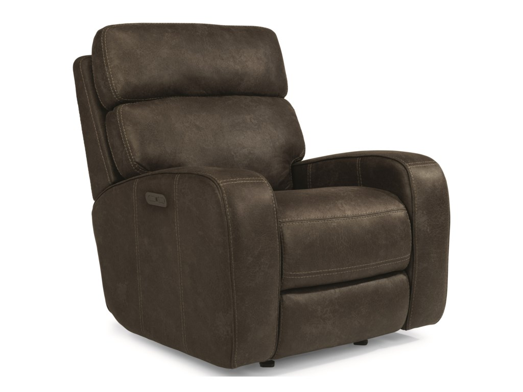 Flexsteel Latitudes Tomkins Power Gliding Recliner With Power
