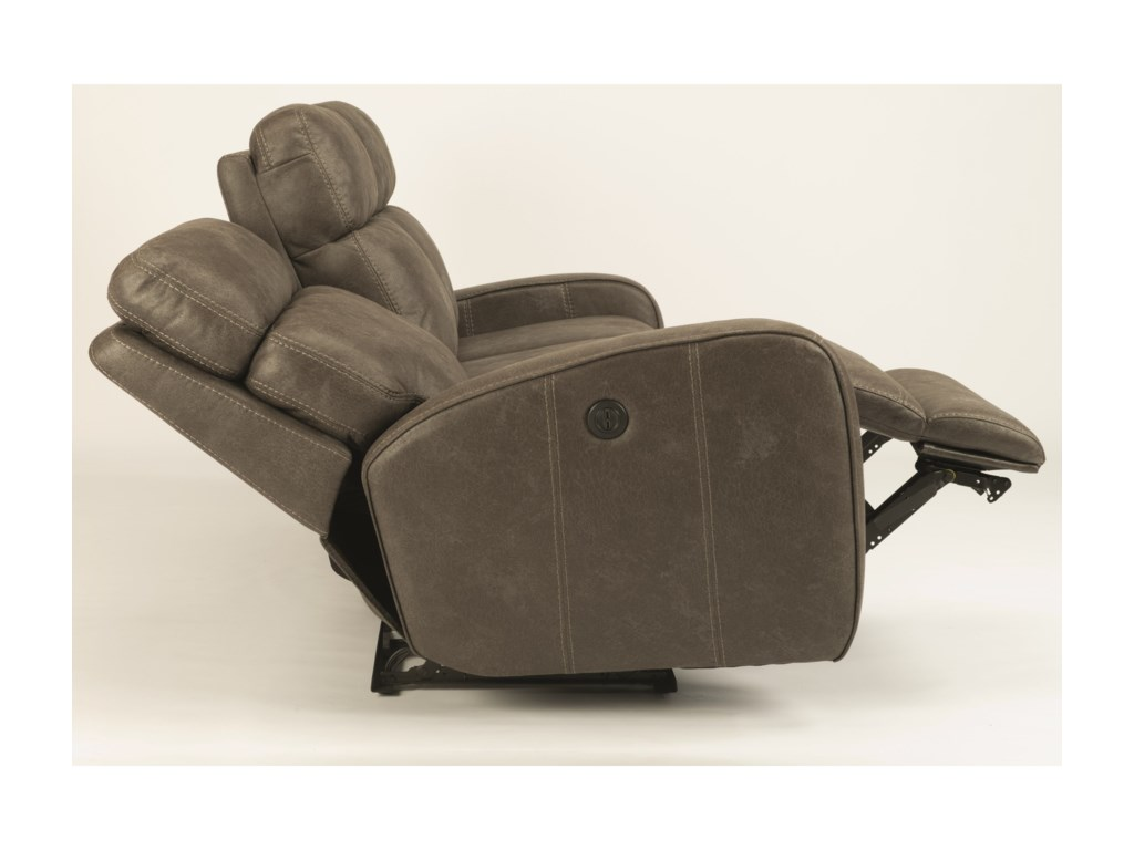 Flexsteel LillianReclining Loveseat w/ Console