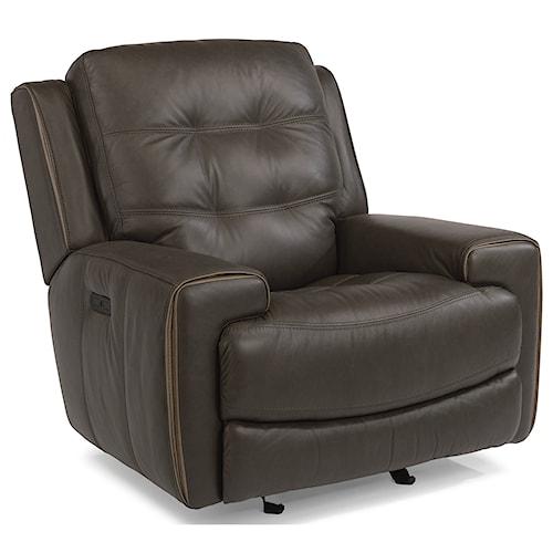 Flexsteel Furniture Uk: Flexsteel Latitudes-Wicklow Power Glider Recliner With