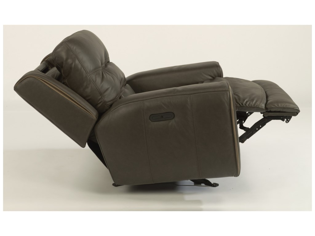 Flexsteel Latitudes-WicklowPower Gliding Recliner with Power Headrest