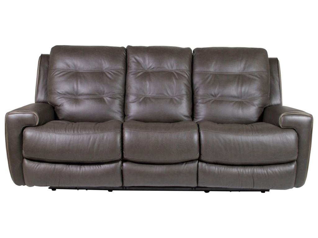 Flexsteel Wicklow Power Reclining Sofa HomeWorld Furniture - Flexsteel sofa leather