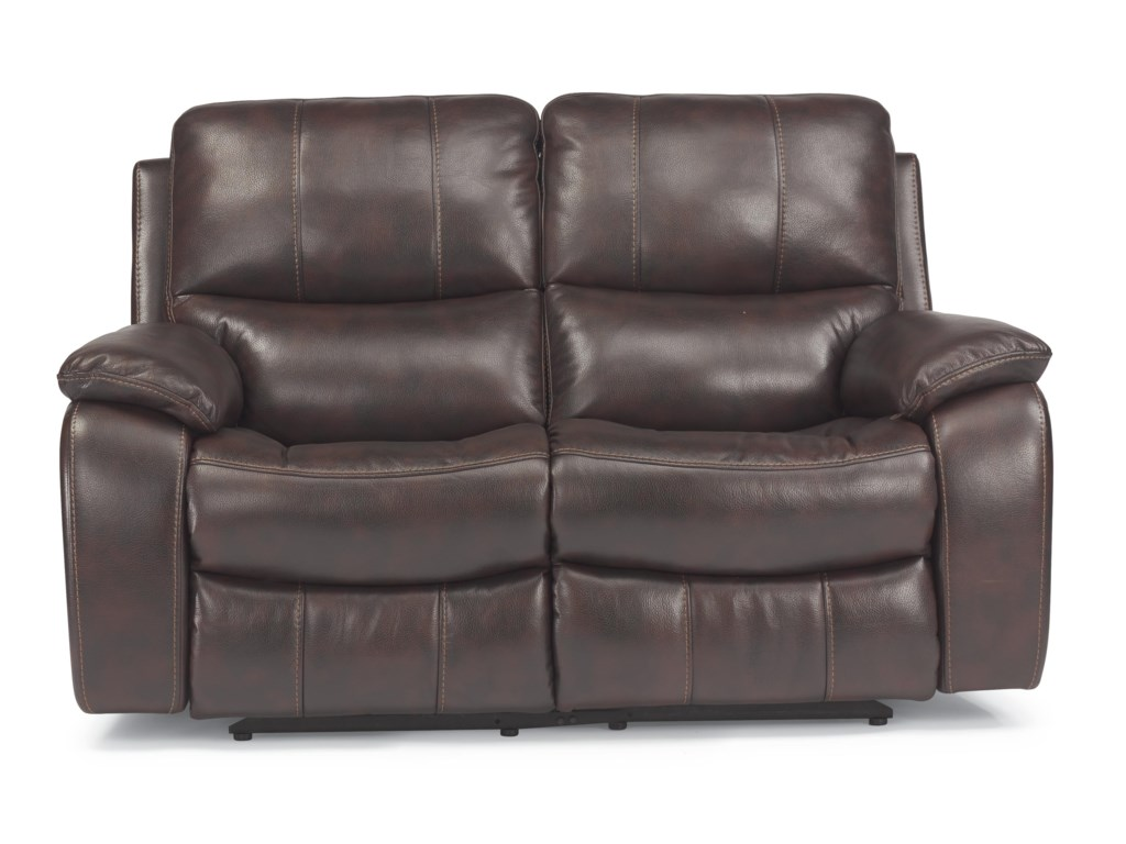 Flexsteel Latitudes - WoodstockDouble Power Reclining Love Seat