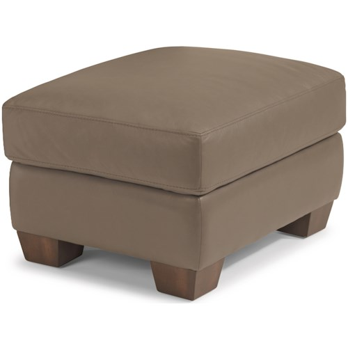 Flexsteel Latitudes-Wyman Contemporary Ottoman