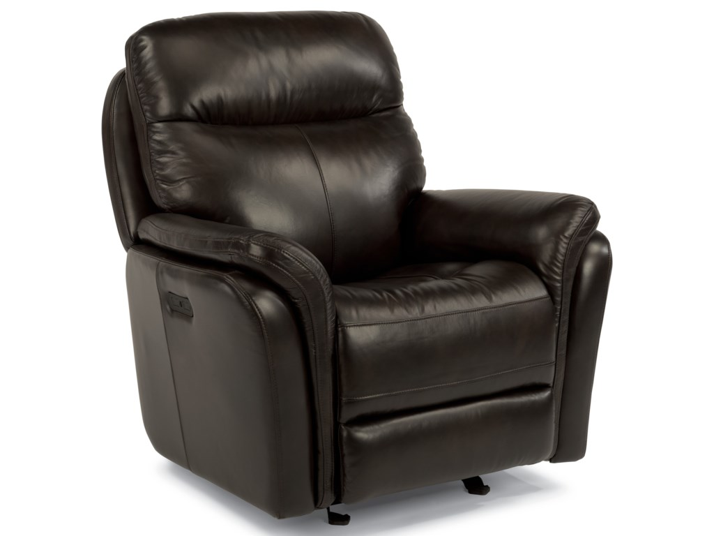 Flexsteel Latitudes-ZoeyPower Gliding Recliner with Power Headrest
