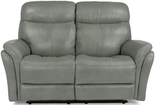 Flexsteel Latitudes-Zoey Power Reclining Loveseat with USB Ports