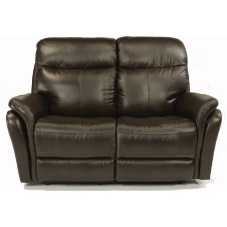 Power Reclining Love Seat w/ Power Headrest