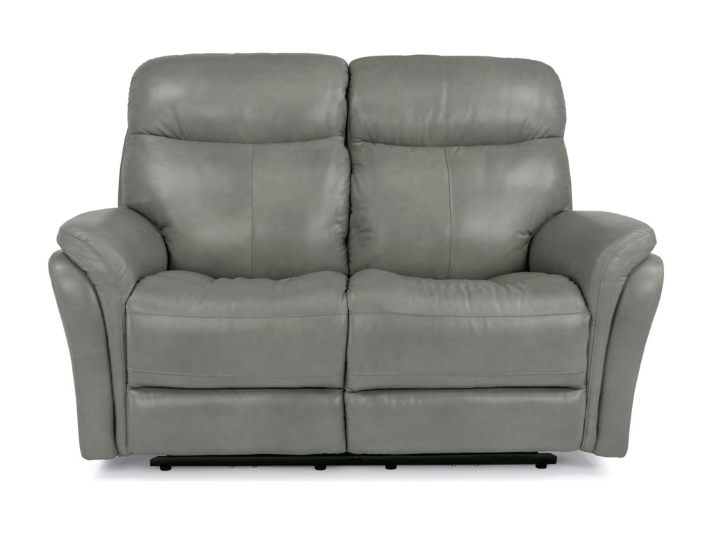Flexsteel Latitudes-ZoeyPower Reclining Love Seat w/ Power Headrest