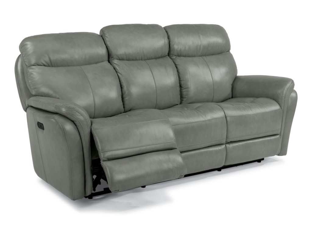 Flexsteel Latitudes-ZoeyPower Reclining Sofa with Power Headrest