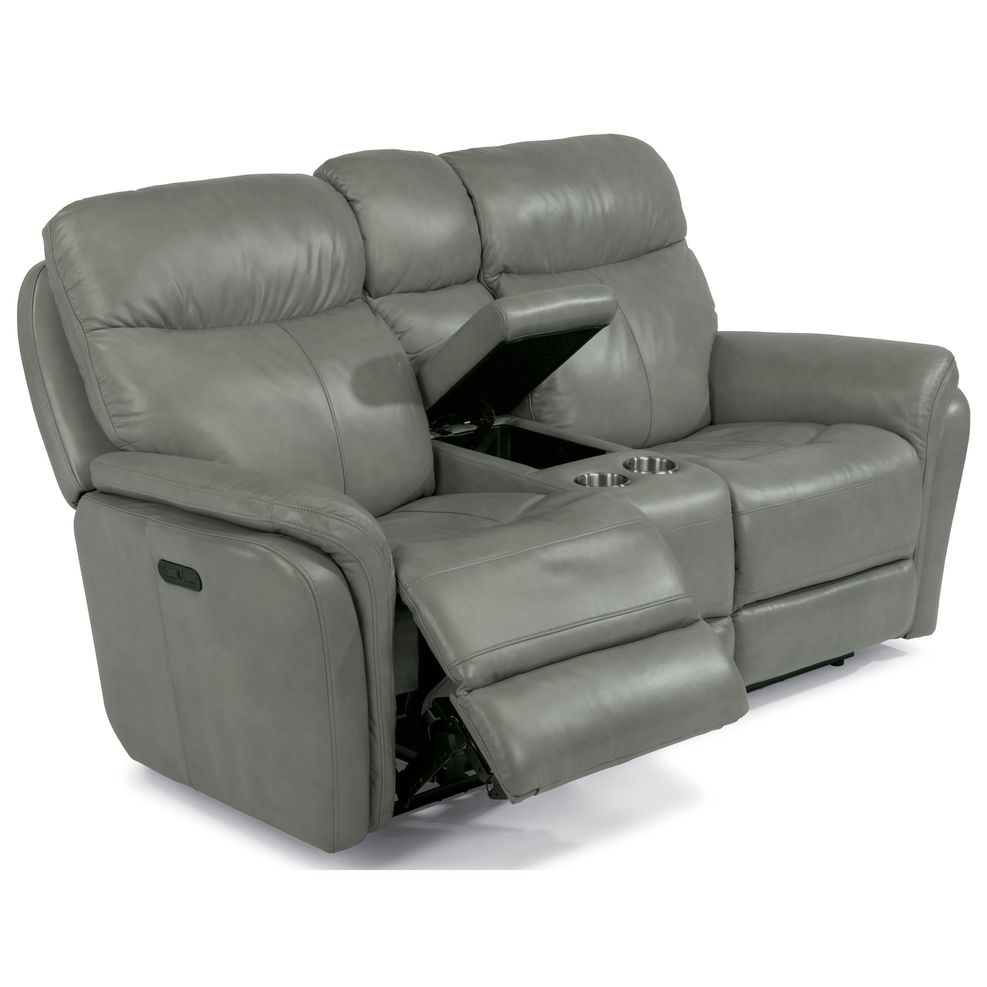 Flexsteel Latitudes-Zoey Power Reclining Love Seat with Power Headrest and Console  sc 1 st  Wayside Furniture & Flexsteel Latitudes-Zoey Power Reclining Love Seat with Power ... islam-shia.org