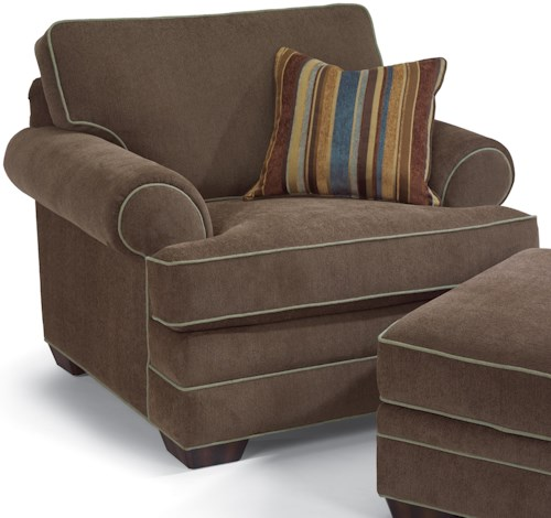 Flexsteel Lehigh Upholstered Chair Jordan S Home