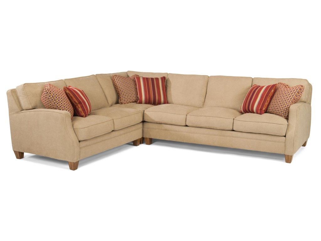 Flexsteel Lenox3 Pc Sectional Sofa