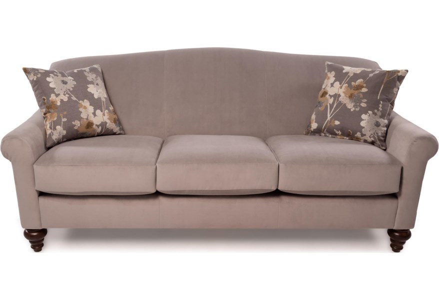 Flexsteel Grace Transitional Sofa With