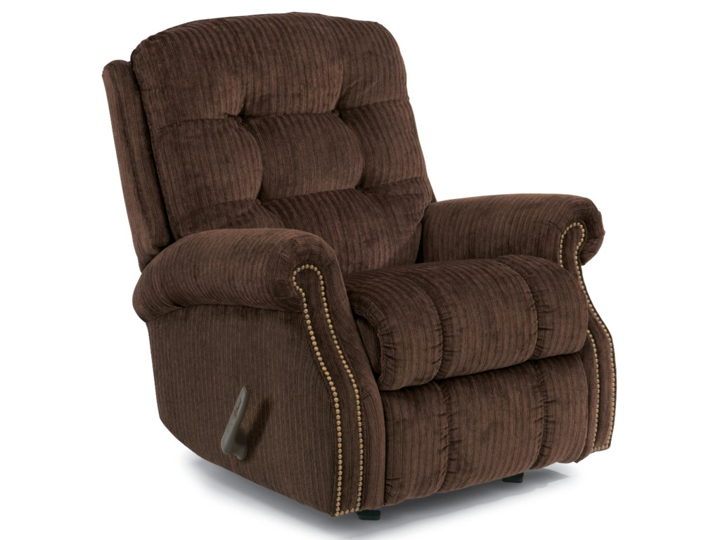 Flexsteel MackenziWall Recliner (with Nailheads)