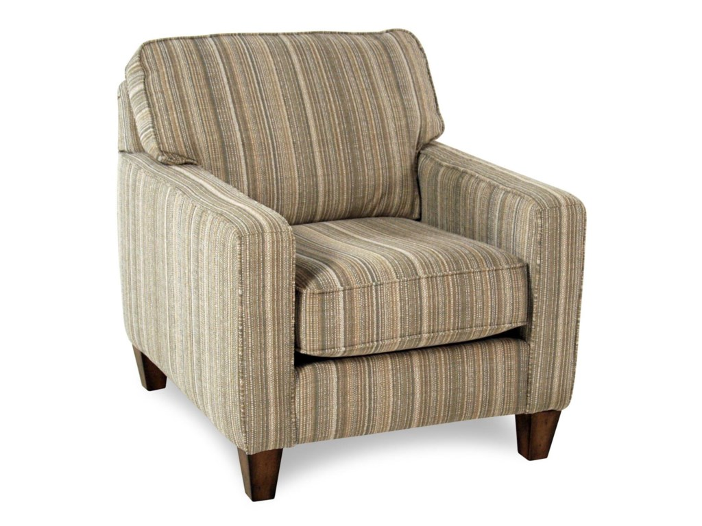 Race Point Upholstered Chair With Reversible Seat Cushions And Welt Cord Accent By Flexsteel