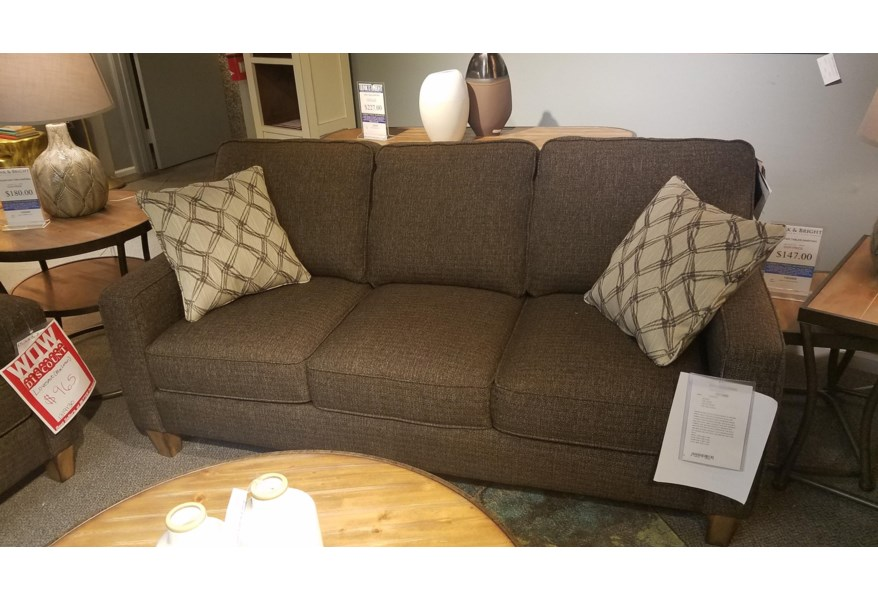 Stationary Sofa With Reversible Seat