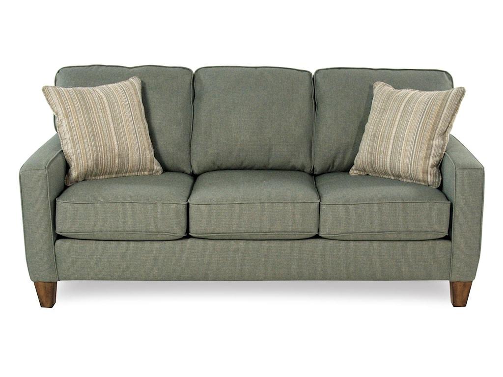 Flexsteel Race Pointtrack Arm Sofa