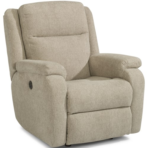 Flexsteel Magnus Casual Power Recliner with USB Port