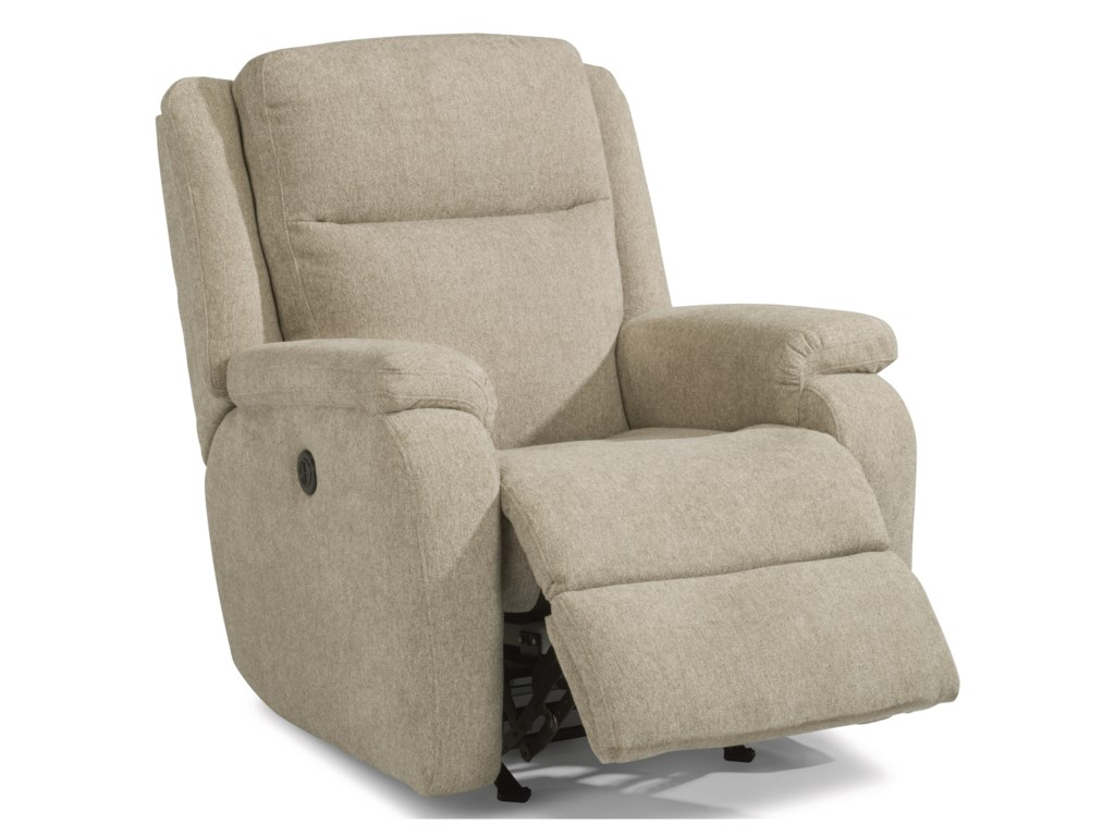 Flexsteel MagnusPower Rocking Recliner