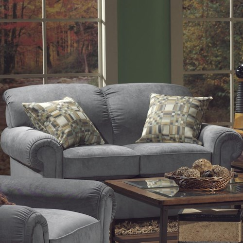 Flexsteel Main Street Traditional Loveseat