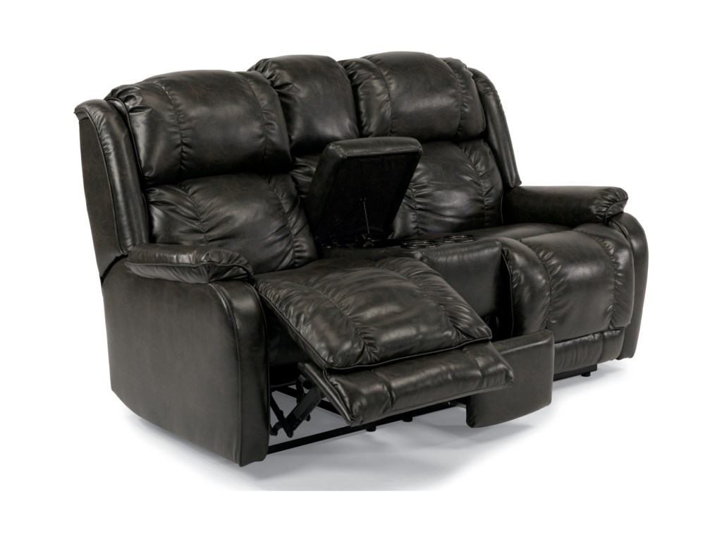 Flexsteel MarcusPower Reclining Love Seat