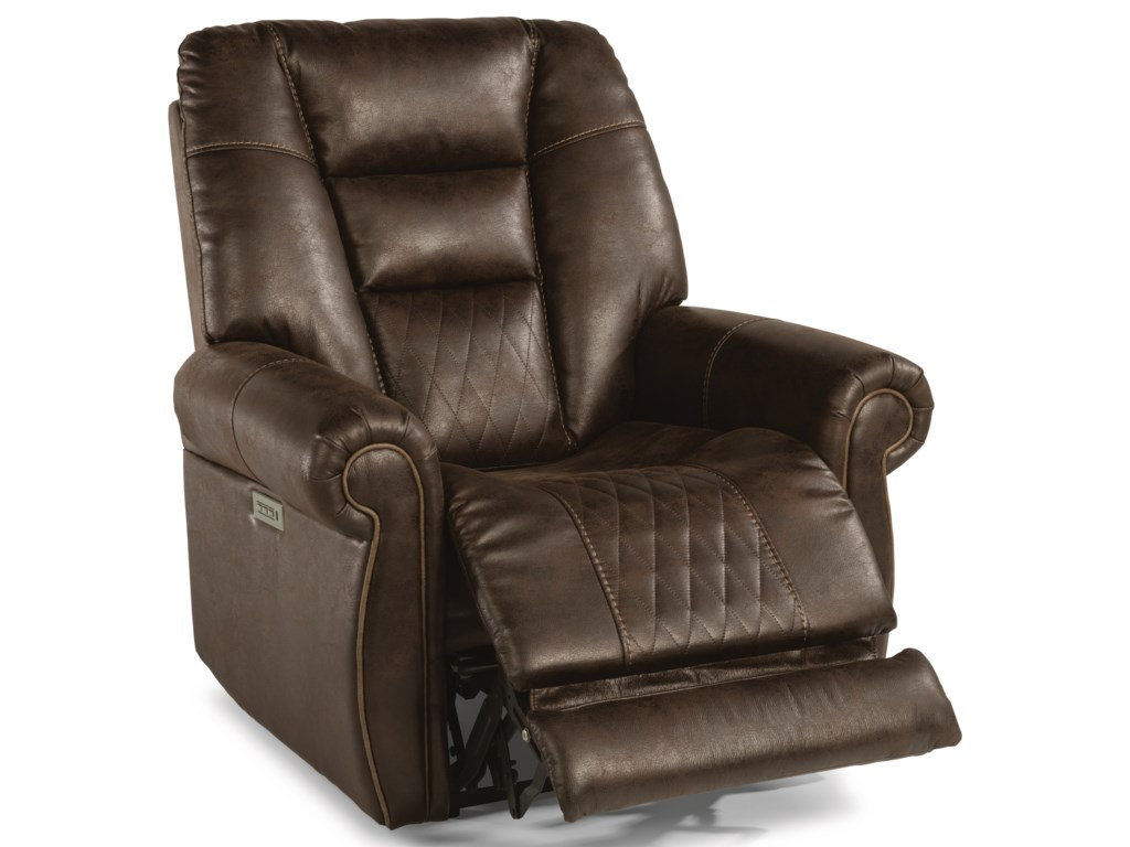Flexsteel Latitudes - MaverickPower Recliner with Power Headrest