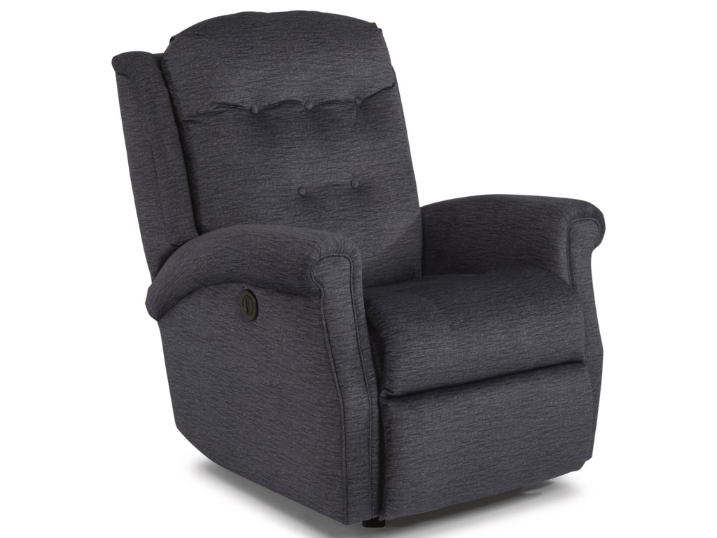 Flexsteel MinniePower Rocking Recliner with Power Headrest