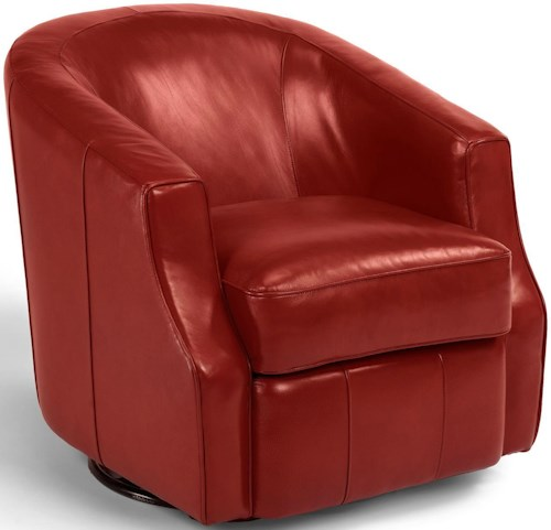 Flexsteel Latitudes - Moonwalk Contemporary Swivel Glider