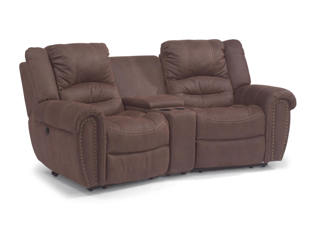 Flexsteel Latitudes - New TownPower Reclining Sectional Sofa