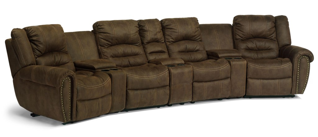 Curved Recliner Sofa Curved Reclining Sofa Foter Thesofa