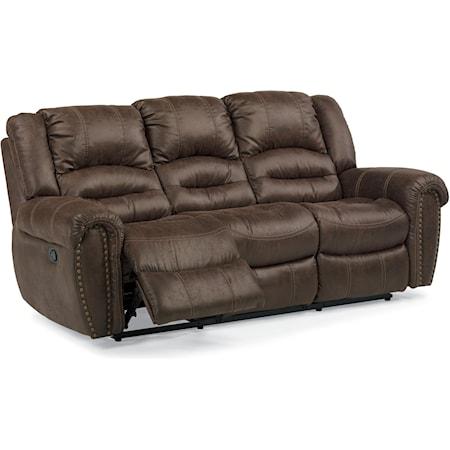 Power Reclining Sofa with Power Headrest