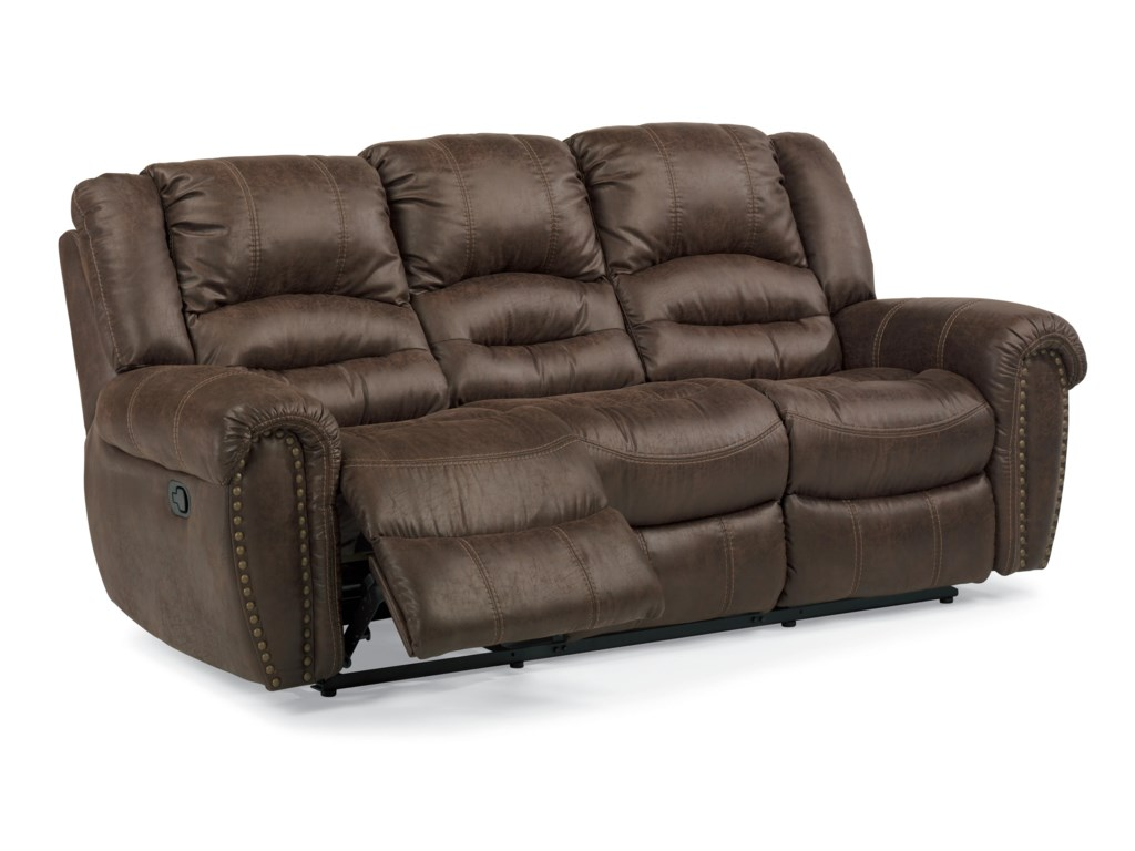 Flexsteel Latitudes - New TownPower Reclining Sofa