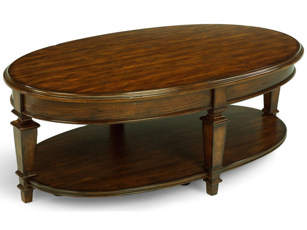 Flexsteel OakbrookOakbrook Oval Cocktail Table