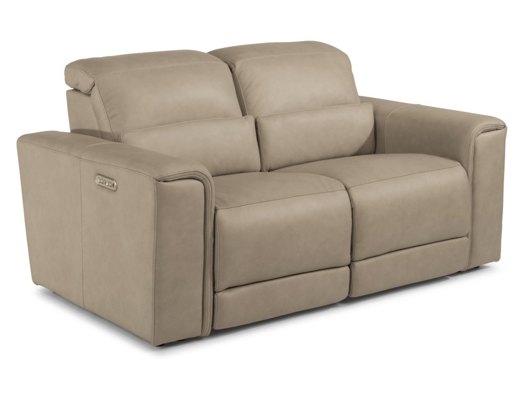Flexsteel Latitudes - OmegaPower Reclining Loveseat with Power HRs
