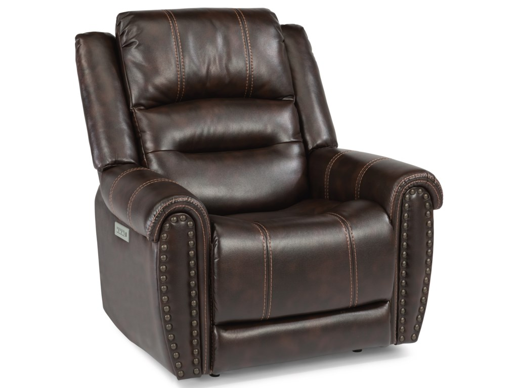 Flexsteel SamuelPower Recliner with Power Headrest