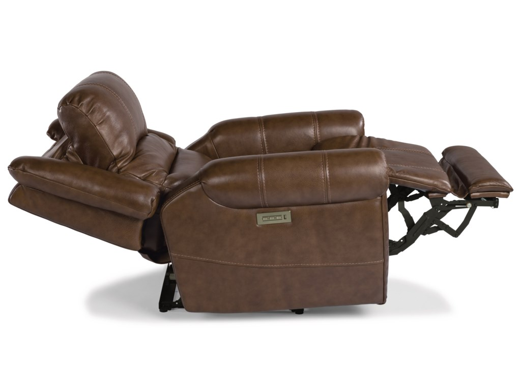 Flexsteel Latitudes - OscarPower Recliner with Power Headrest