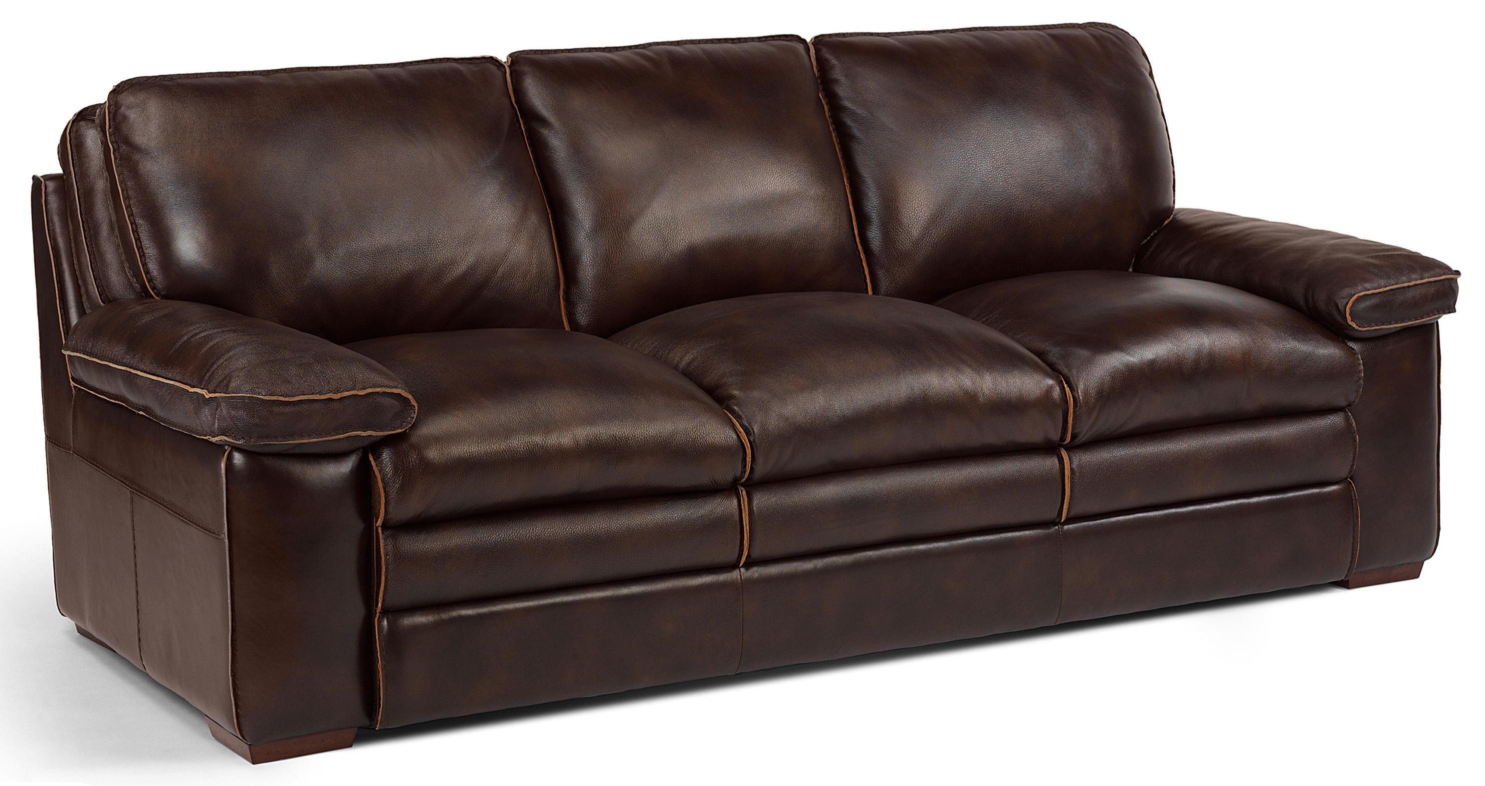 Flexsteel Latitudes   Penthouse Casual Sofa With Pillow Top Seating