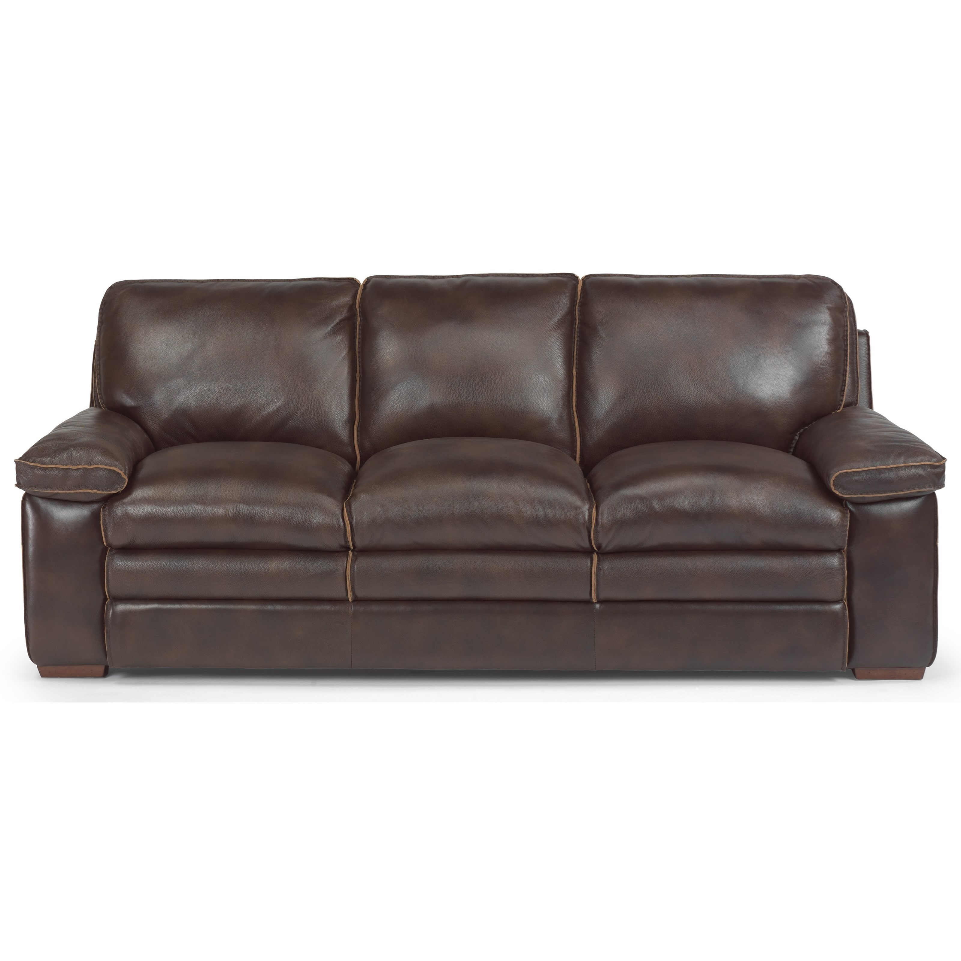 flexsteel latitudes penthouse casual sofa with pillow top seating rh furnituremartco com sofa mart colorado springs co