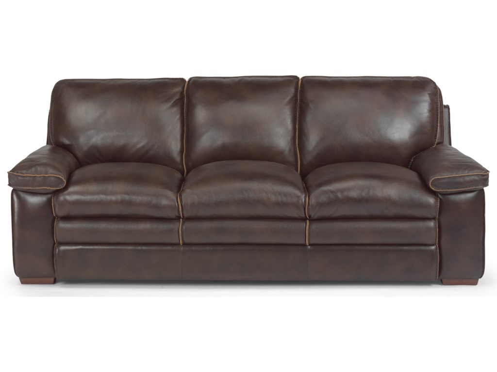 Laudes Casual Sofa With Pillow Top Seating By Flexsteel At Furniture Mart Colorado