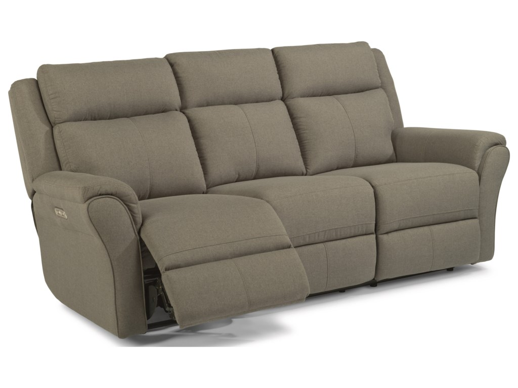 Flexsteel Latitudes-PikePower Reclining Sofa