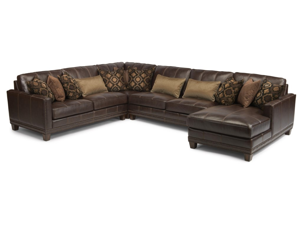 Flexsteel Latitudes - Port Royal4 Pc Sectional Sofa