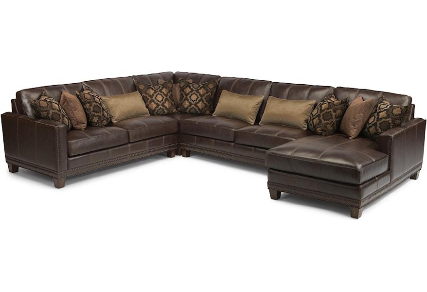 Latitudes - Port Royal 4 Pc Sectional Sofa