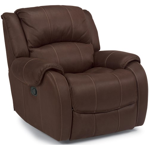 Flexsteel Latitudes -Pure Comfort Power Motion Recliner with Pillow Top Arms