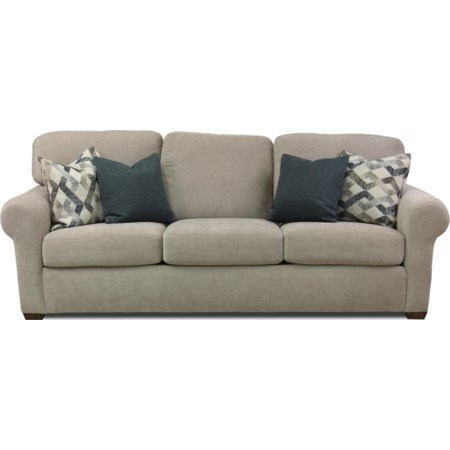 "93"" Three-Cushion Sofa"