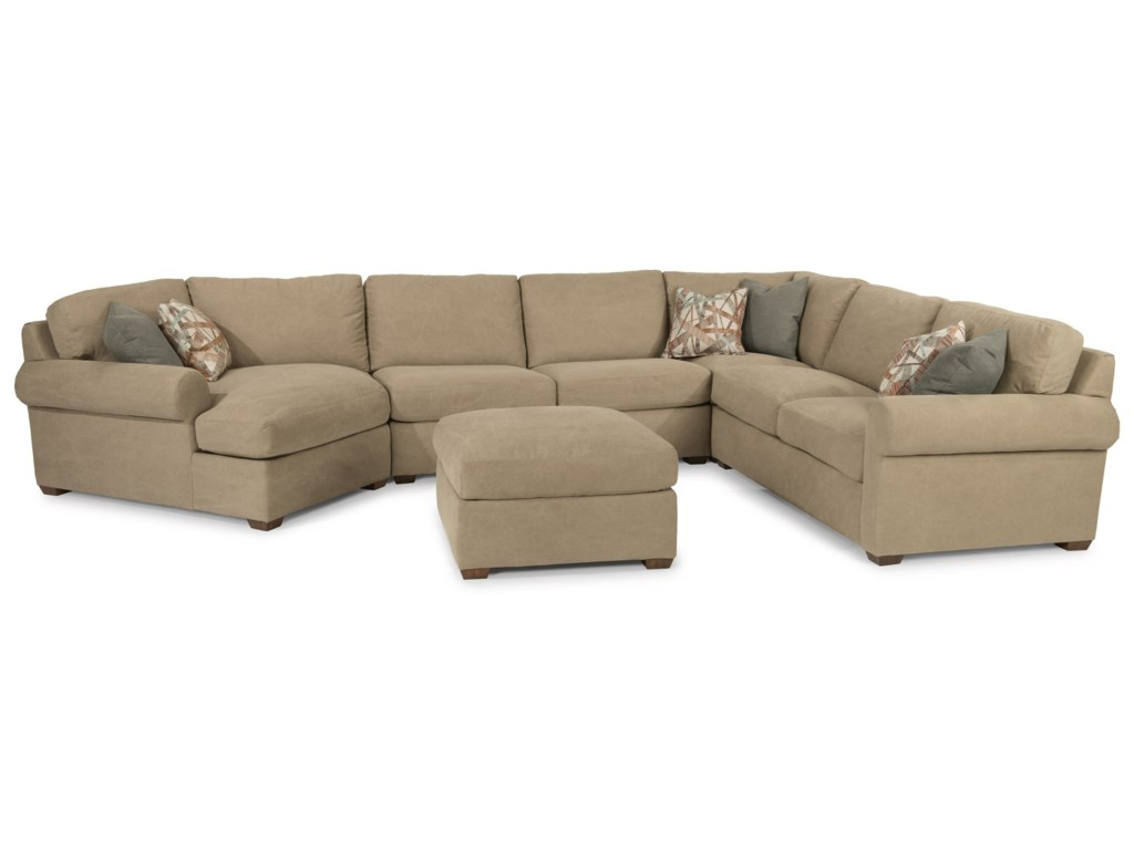 Flexsteel Randall5 Seat Sectional