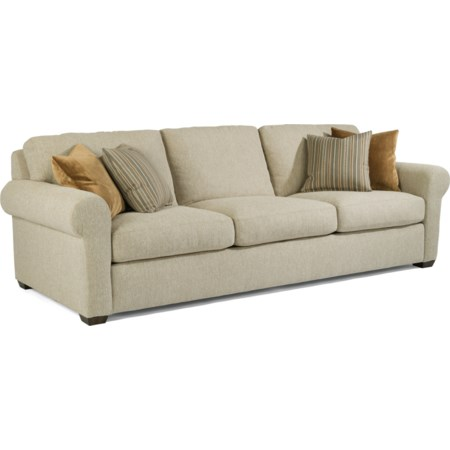 "105"" Three-Cushion Sofa"