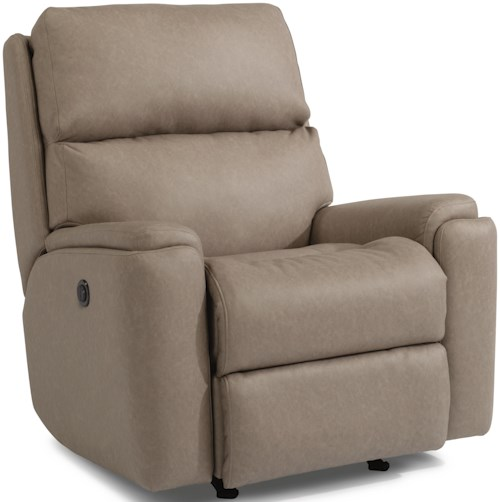 Flexsteel Rio 2904 Casual Power Rocking Recliner with USB Port