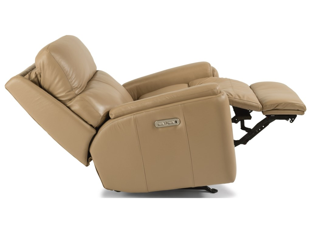 Flexsteel RioPower Rocking Recliner with Power Headrest